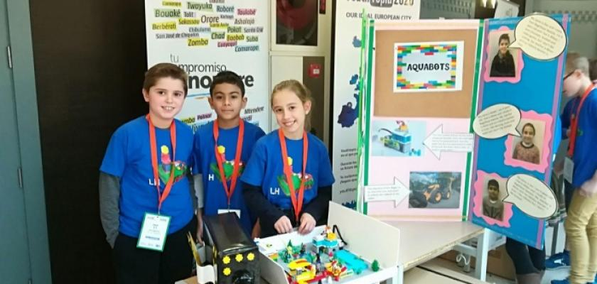JUNIOR FIRST LEGO LEAGUE LOGROÃ'ON
